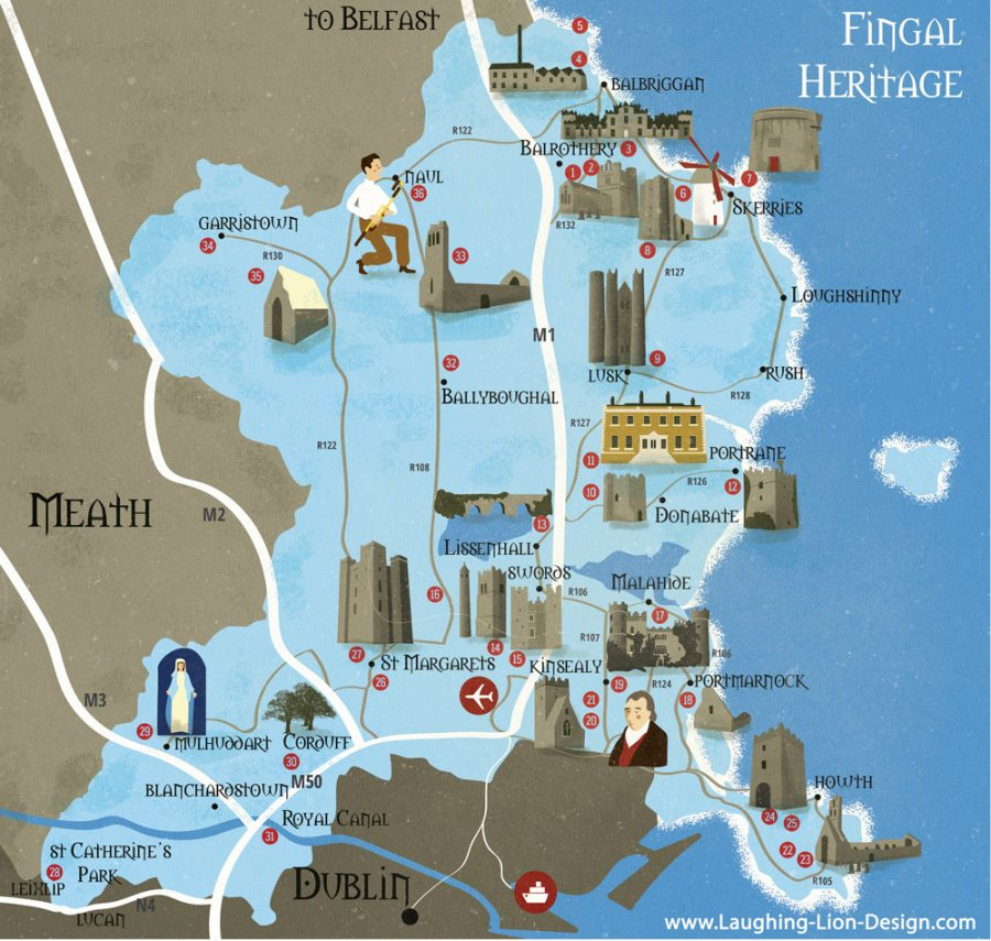 Heritage Map of Fingal