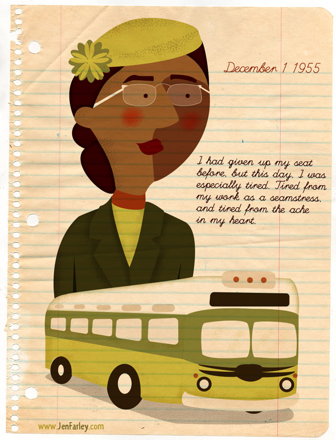 Rosa Parks Illustrated by Jennifer Farley
